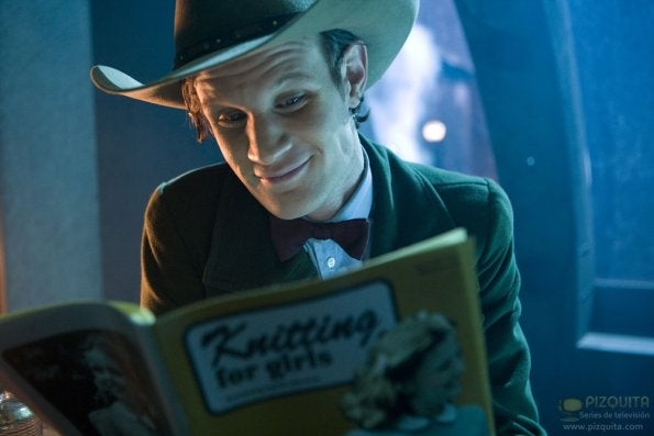 "Promo photos from Doctor Who episode 6.13, ""The Wedding of River Song"""