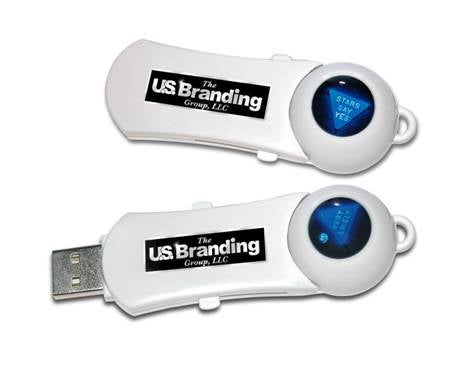 USB Drive Saves Data, Tells Future