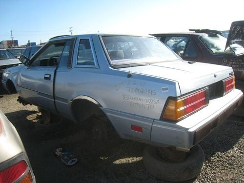 1983 Datsun 200SX Down On The Junkyard