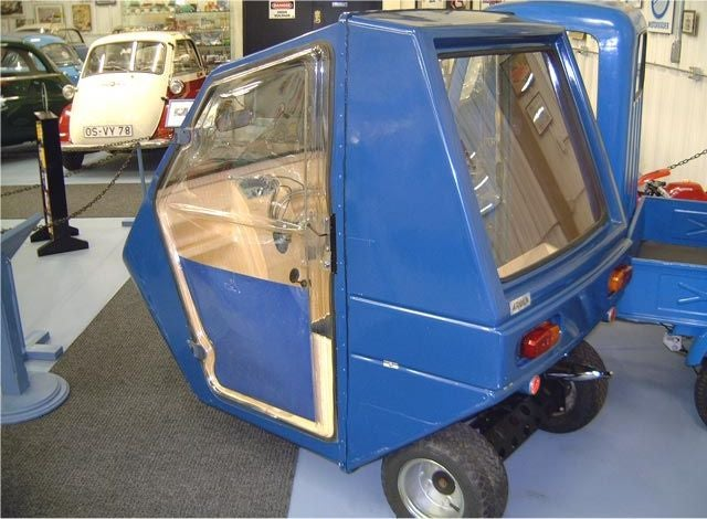 I saw the world's most Jalop car collection yesterday. Seriously.