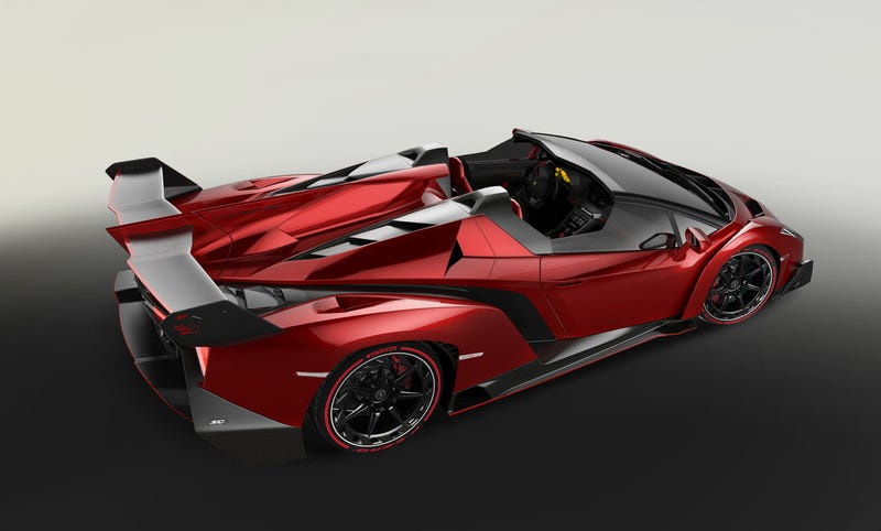 The Lamborghini Veneno Roadster Is A Ridiculous Trip To Insanetown