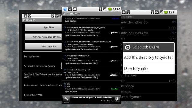 DropSpace Automatically Syncs SD Card Directories to Dropbox