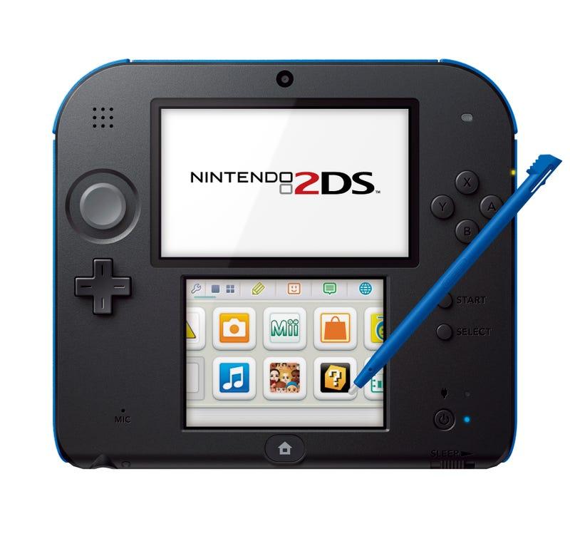 Nintendo anuncia la consola portátil 2DS (sí, has leído bien)