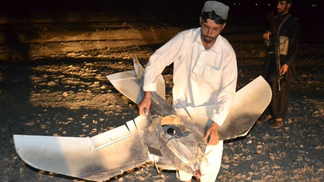 This Crazy Birdlike Robot Crash-Landed in Pakistan