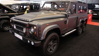 The 6x6 Defender Is Actually A Full-On