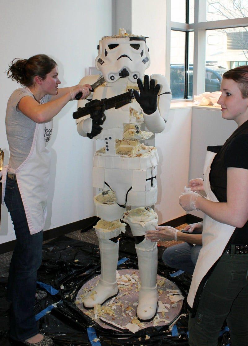 Stormtrooper Cake Gallery