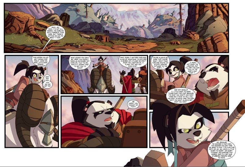 The Best Part of Pandaria So Far is This Gorgeous Graphic Novel