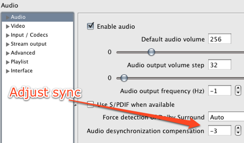 Fix Desynchronized Video and Audio with VLC