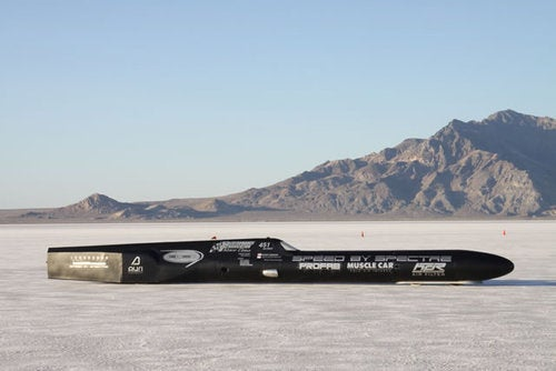 Spectre SpeedLiner 400 MPH Record Car
