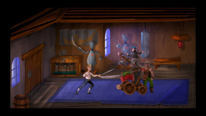 The Secret Of Monkey Island: Special Edition In Pictures
