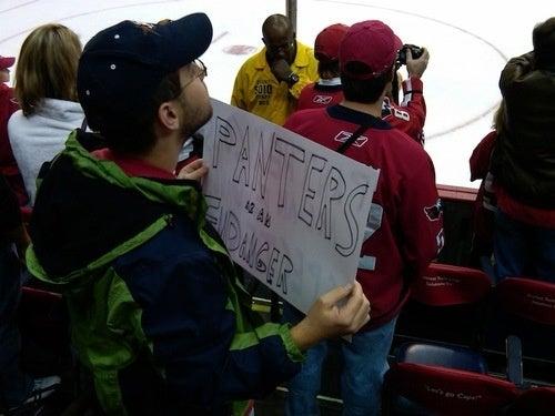 English Language 1, Washington Fans 0