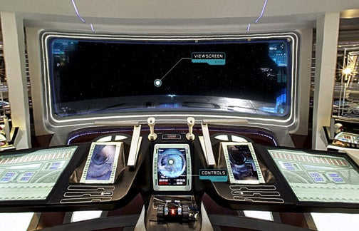 Just How Big Is the Enterprise's Viewscreen?