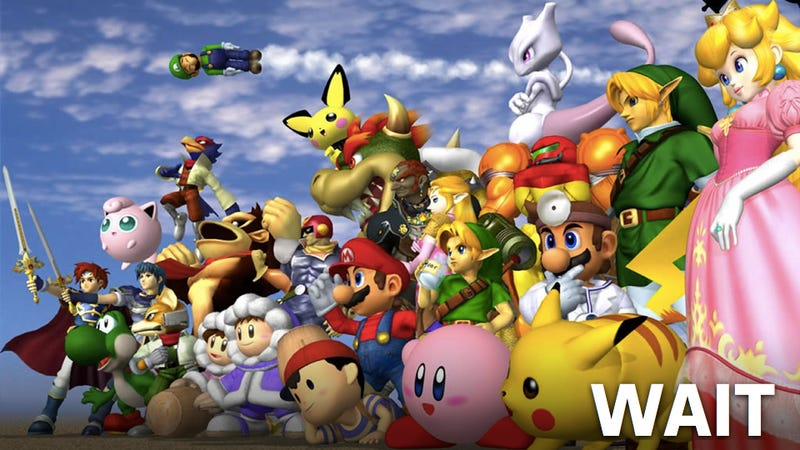 Cold Water Thrown on Smash Bros. for Wii U and 3DS