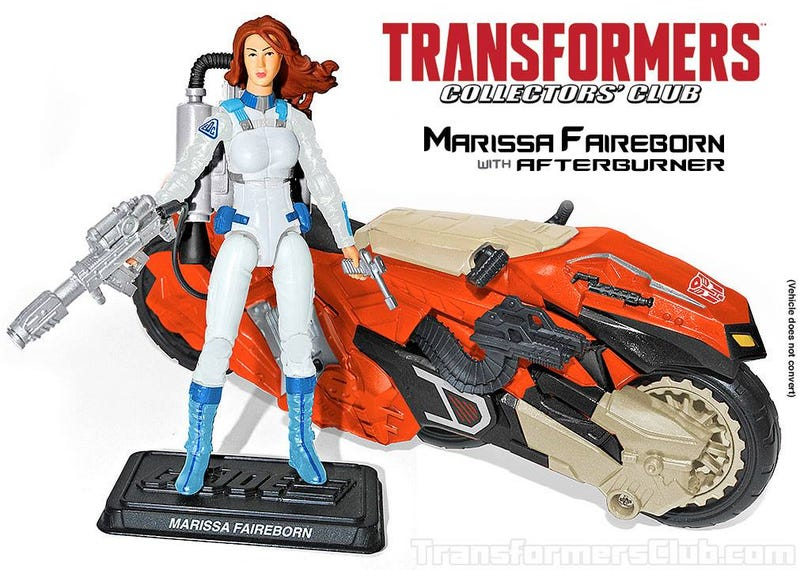 New G.I. Joe/Transformers Collectors Figures Revealed
