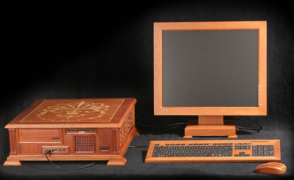 PC Made of Redwood Gives Us Wood