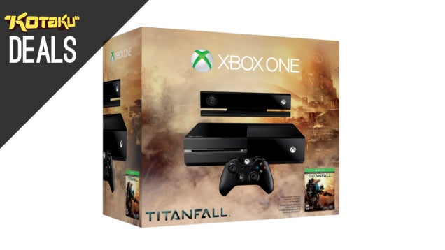 Get that $450 Titanfall Xbox One Bundle Today With A Free Year of LIVE