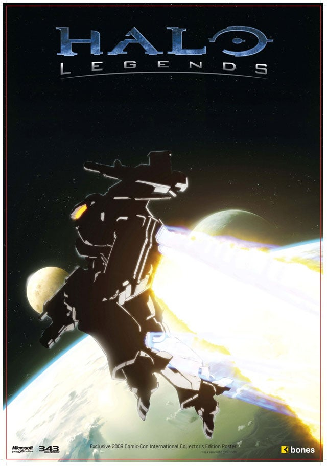 Halo: Legends Posters Will Change The Way You Think About Halo