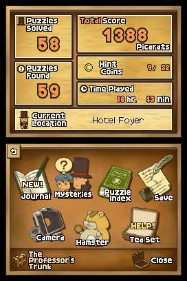 Here, Have Some Professor Layton Screens