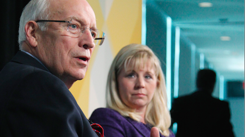 Dick and Liz Cheney Are Trying to Be Nice Now