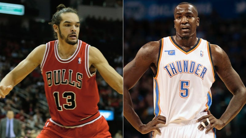 Kendrick Perkins Kicked Joakim Noah Out Of The Thunder Locker Room