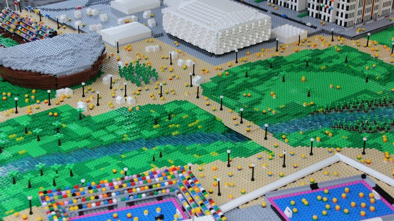 This Lego Olympic Park Is Just Like the Real Thing