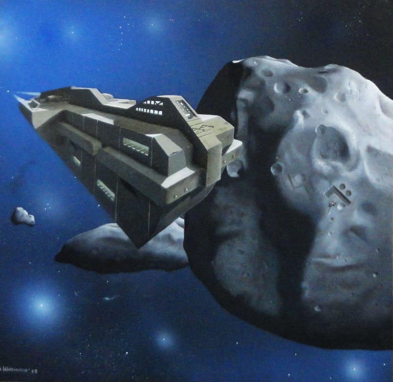 Bill Clinton's defense secretary is writing an asteroid-mining novel