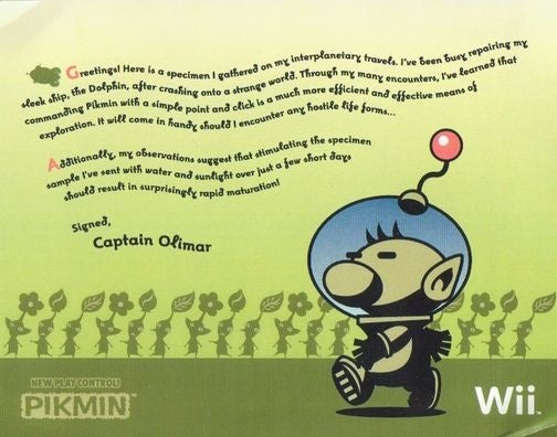 Nintendo Teases Pikmin Wii With a Plant