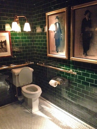 The best restaurant in new york is ralph lauren 39 s polo bar for Bathroom design restaurant