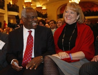 Clarence Thomas's Wife Leaves Ridiculous Voicemail For Anita Hill