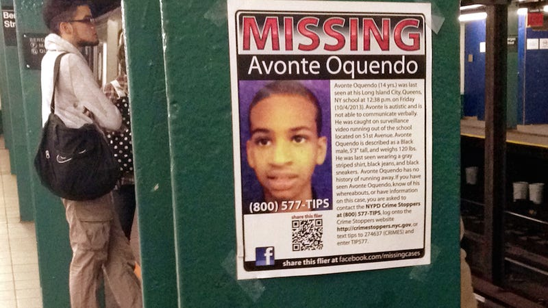 Brother of Avonte Oquendo Thanks New York in Poignant Letter