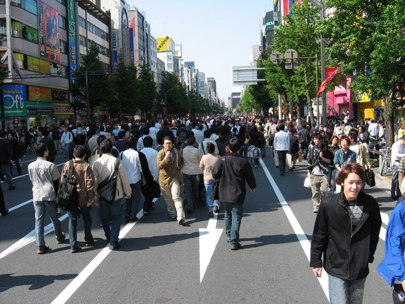People Can Walk The Streets of Akihabara Again!