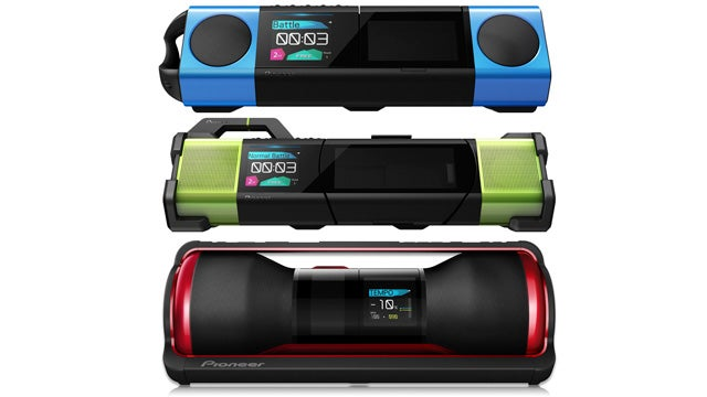 Pioneer's Dance Crew Boomboxes Don't Include Cardboard Mats