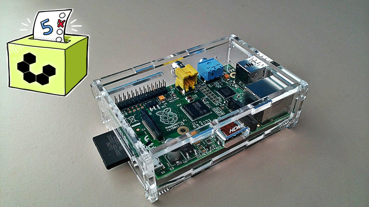 Five Best Raspberry Pi Cases