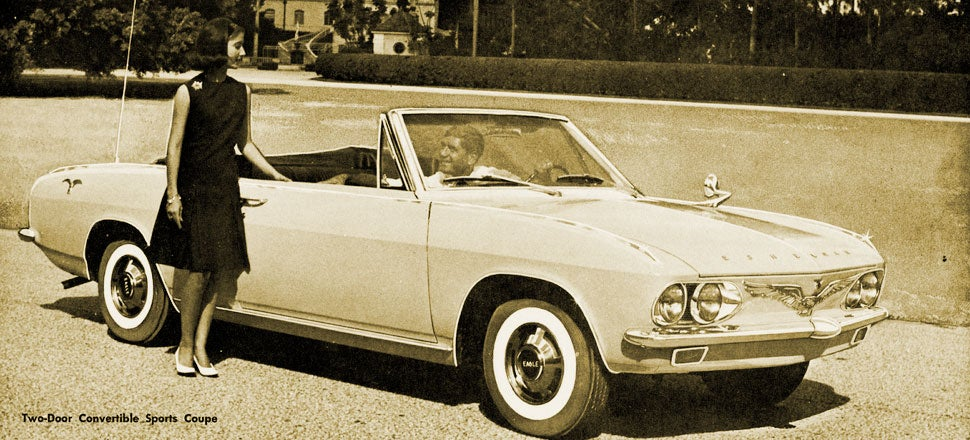 This May Be The Weirdest Corvair Variant