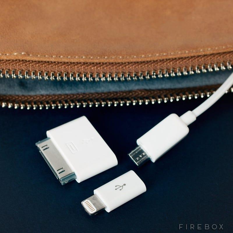 A Handy Purse That Hides a Secret Phone Charger