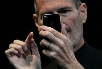 Did Apple PR Lie About Steve Jobs' 'Calm Down' iPhone 4 Email?