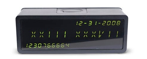 Epoch Clock: A Rosetta Stone Timepiece for Number Codes