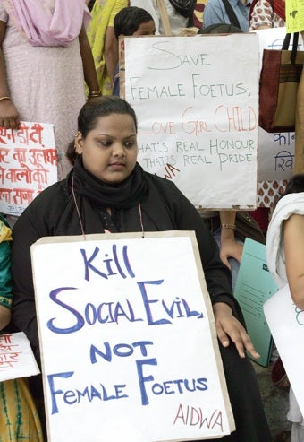 The Grim Reality Behind Dwindling Female Populations