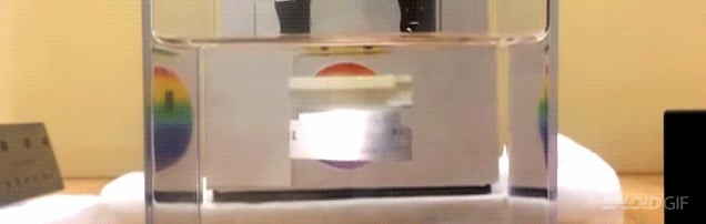 Magic material is both a reflecting mirror and a see through window