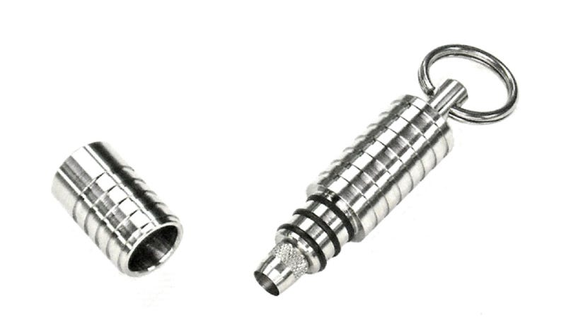 This Titanium Cigar Punch Will Only Add To the Awesomeness of Smoking Your Cuban