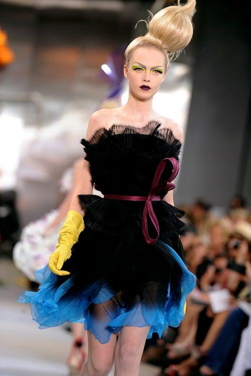 Dior Shows Crazy Gardener Couture