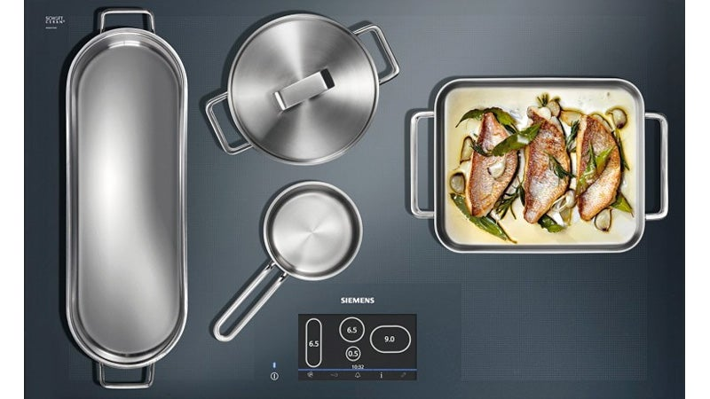 Full Surface Induction Cooktop Gives You the Freedom To Place Your Pots Anywhere