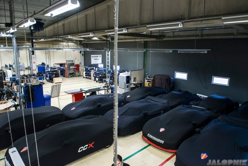 Take A Tour Of The Hangar Where Koenigsegg Builds Amazing Cars