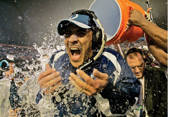 Tony Dungy Bids Adieu