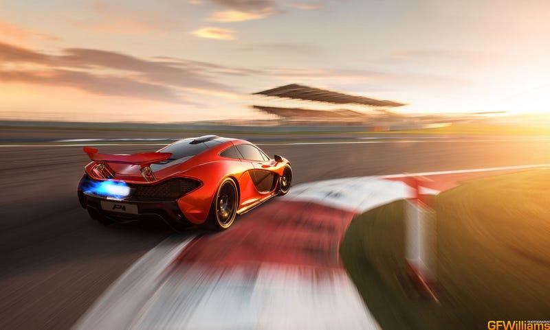 This Is More Glorious McLaren P1 Car Porn