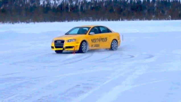 What It's Like To Drive 200 Miles Above The Arctic Circle