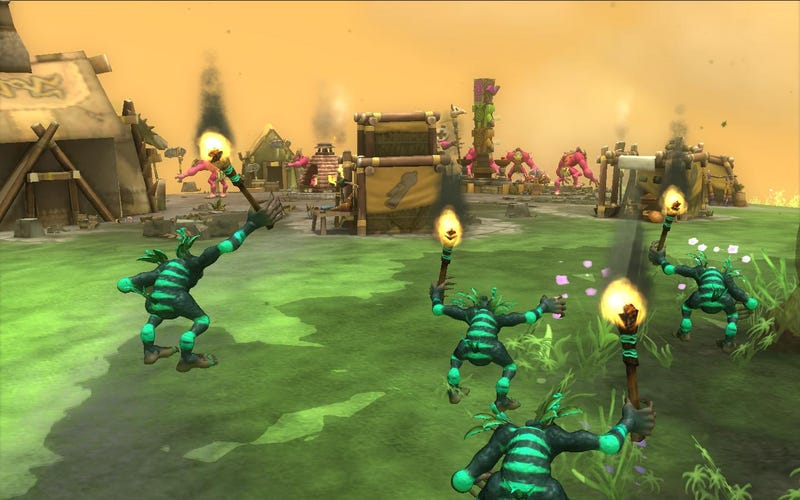When Spore Tribes Go To War