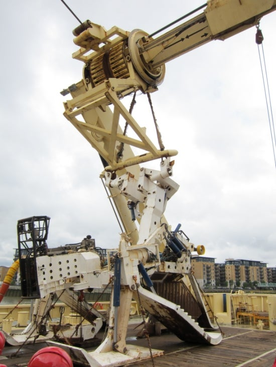Scenes From a Massive Undersea Cable Ship