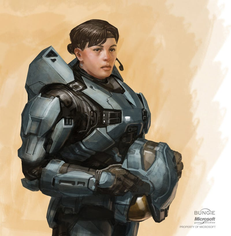 Halo, Destiny Artist Sure Knows How To Draw Cool Stuff