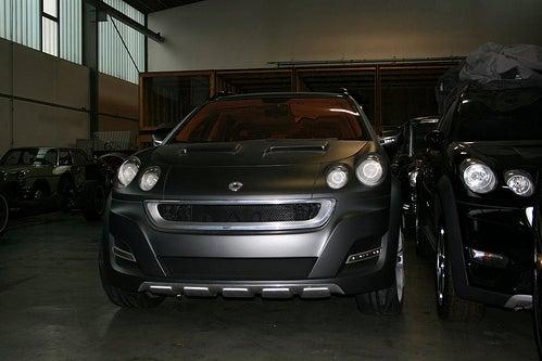 "Stillborn Smart ""ForMore"" SUV Concept Found In Shed"